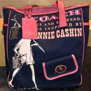 Coach Bonnie Cashin Canvas Tote Bag